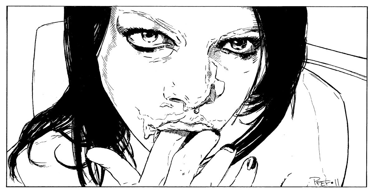 Porn's Kool Keith: Sean Adamz w/ Art by Pfef Parry